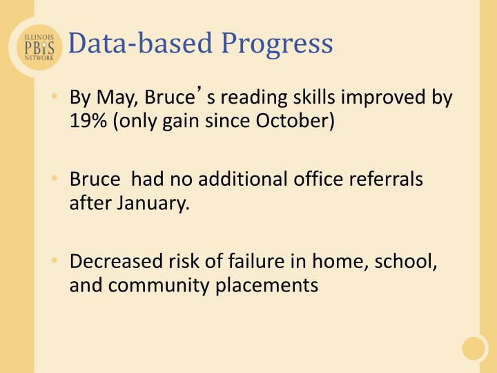Data-based Progress