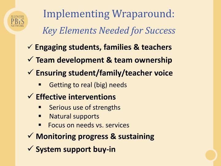 Implementing Wraparound: