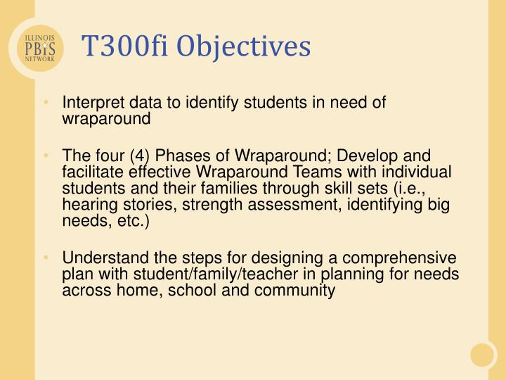 T300fi objectives
