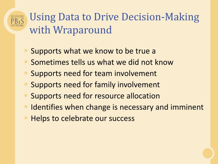 Using Data to Drive Decision-Making with Wraparound