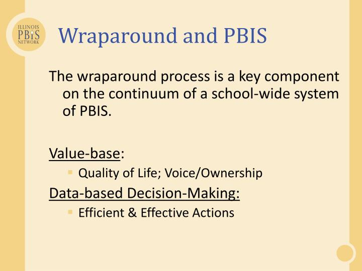 Wraparound and PBIS