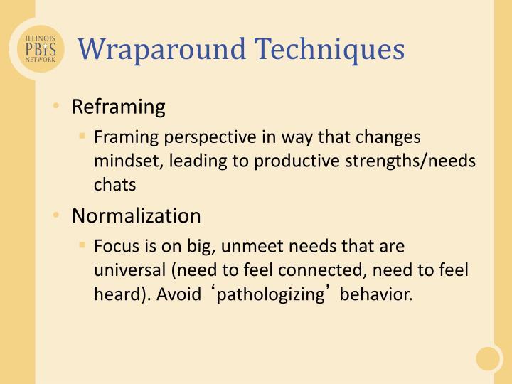 Wraparound Techniques