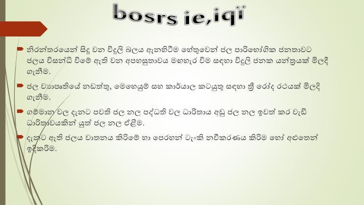 bosrs
