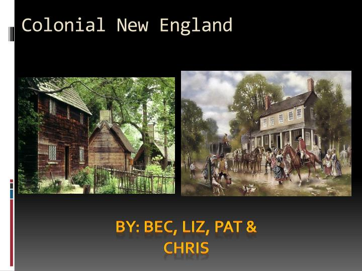 colonial new england n.
