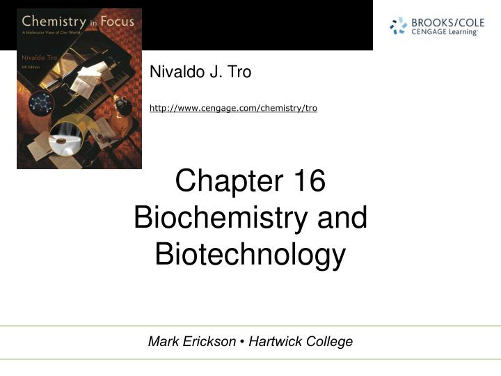 chapter 16 biochemistry and biotechnology n.