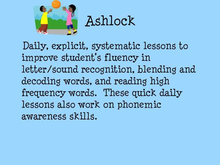 Ashlock
