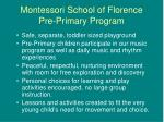 montessori school of florence pre primary program1
