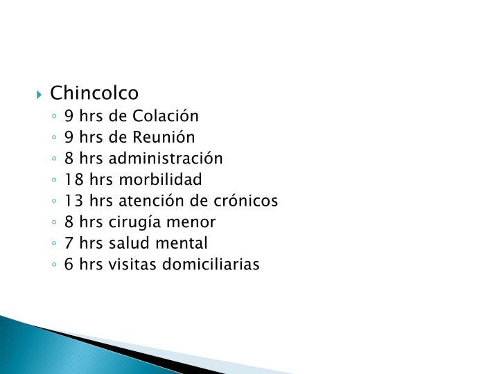 Chincolco