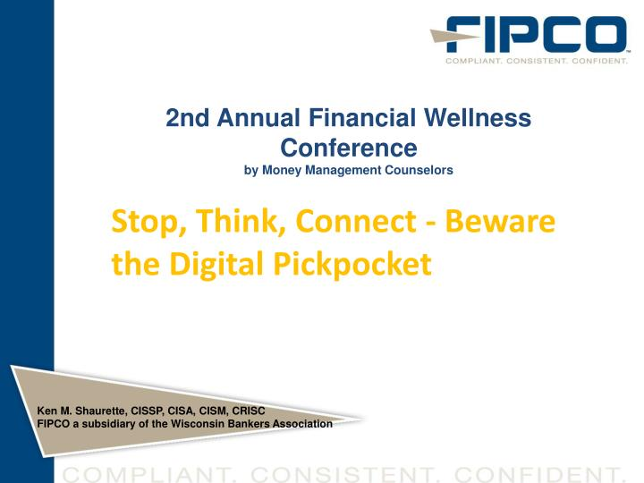 2nd annual financial wellness conference by money management counselors