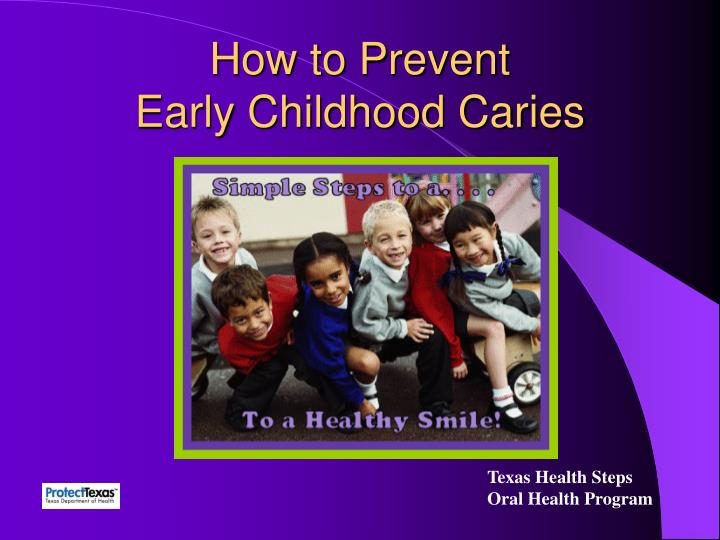 how to prevent early childhood caries n.