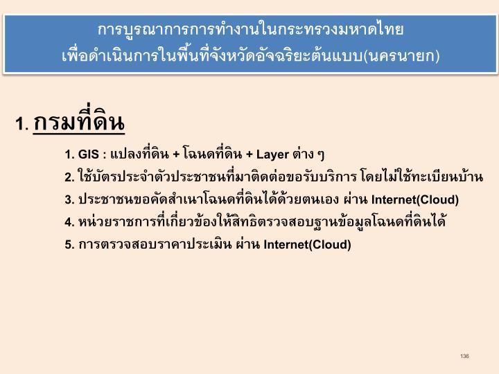 การบูรณาการการทำงานในกระทรวงมหาดไทย