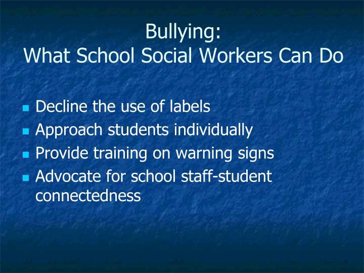 Bullying: