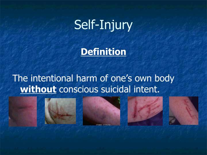 Self-Injury