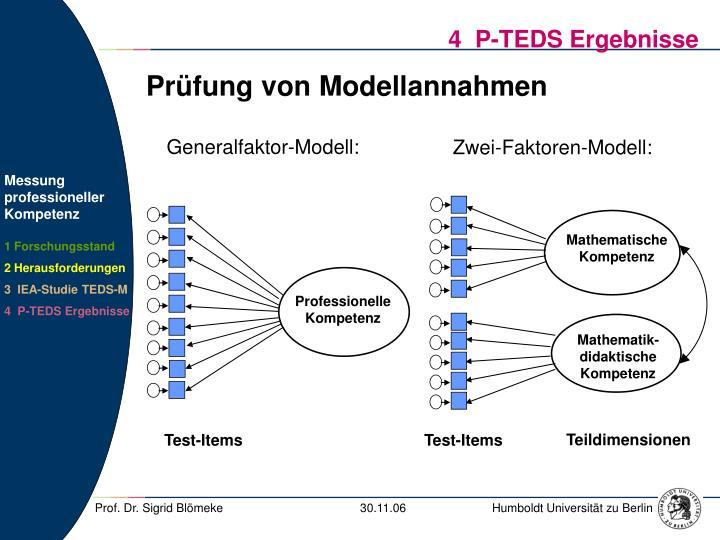 Generalfaktor-Modell:
