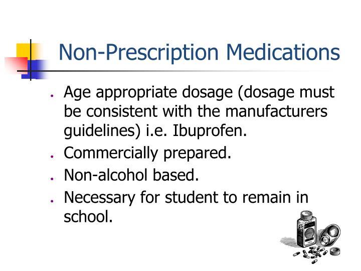 Non-Prescription Medications