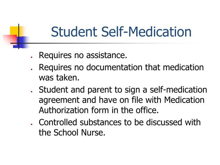 Student Self-Medication