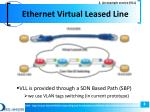 ethernet virtual leased line