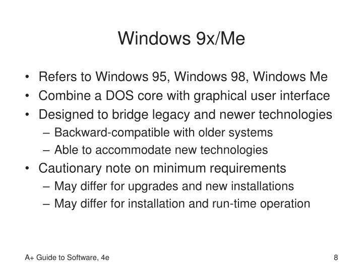 Windows 9x/Me