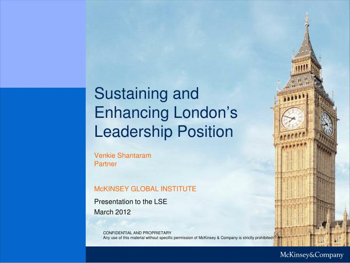 sustaining and enhancing london s leadership position n.