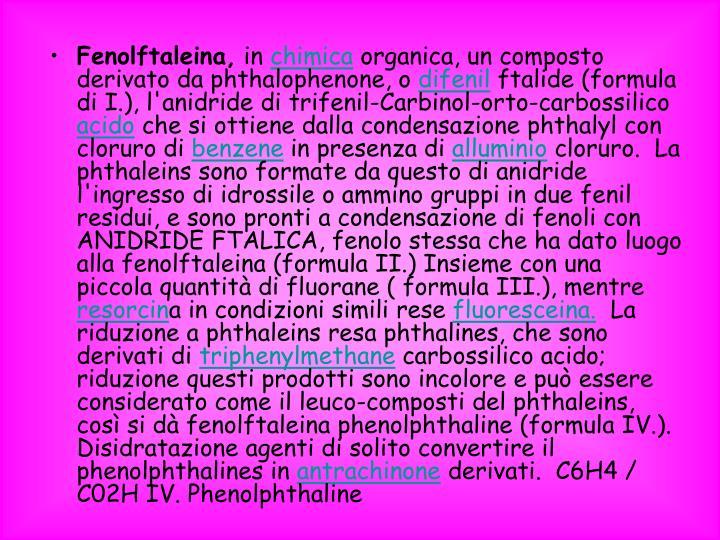 Fenolftaleina,