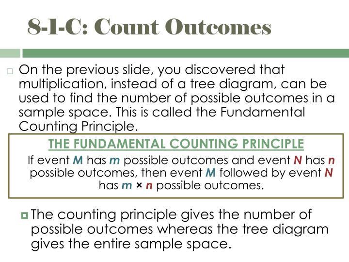 8-1-C: Count Outcomes