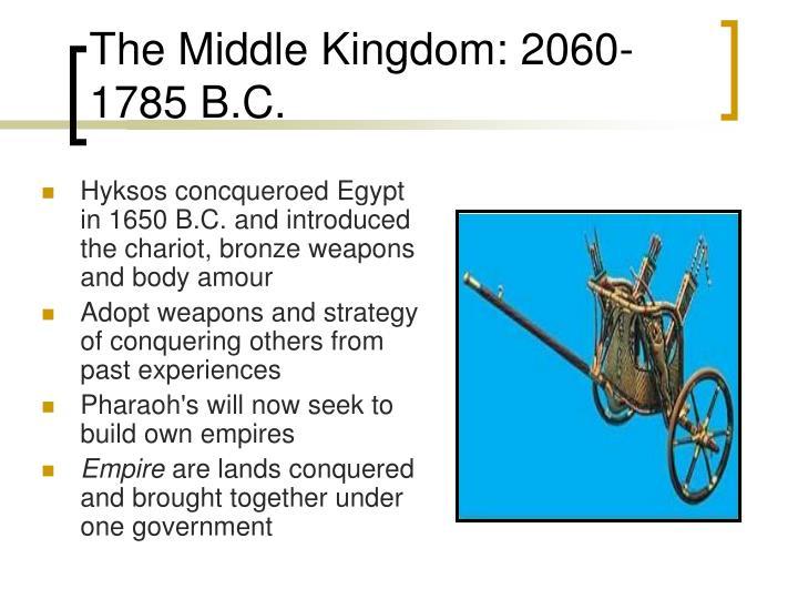 The middle kingdom 2060 1785 b c1