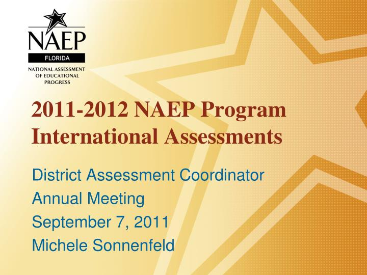 2011 2012 naep program international assessments n.