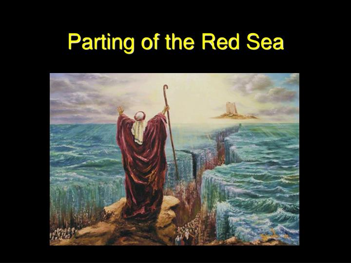 Parting of the Red Sea