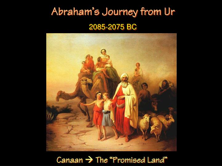 Abraham's Journey from