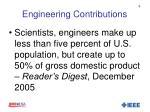 engineering contributions