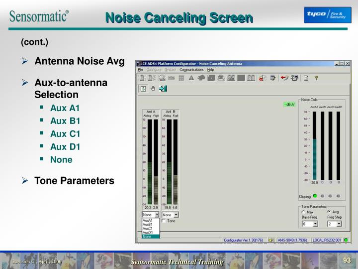 Noise Canceling Screen