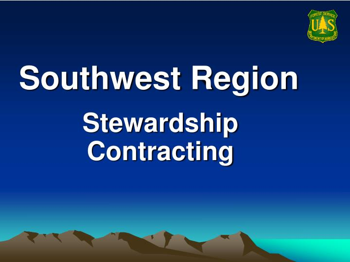 southwest region n.