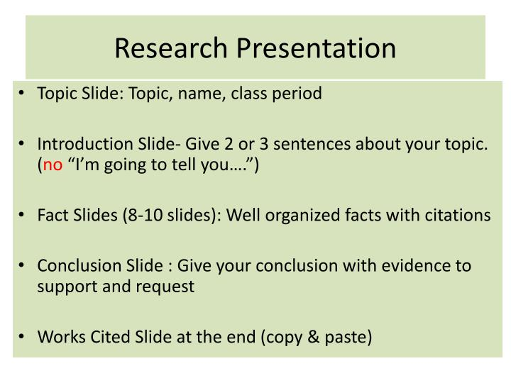 Ppt Research Presentation Powerpoint Presentation Free