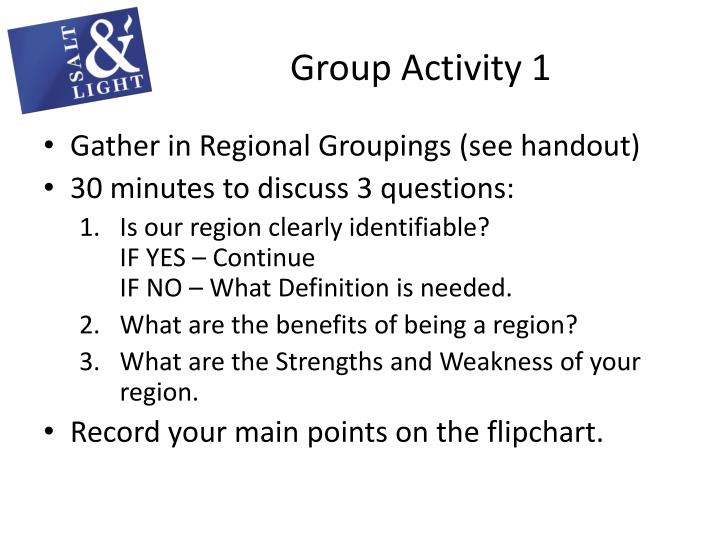 Group Activity 1