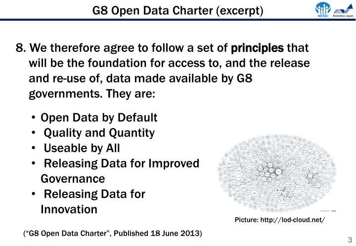 G8 Open Data Charter (excerpt)