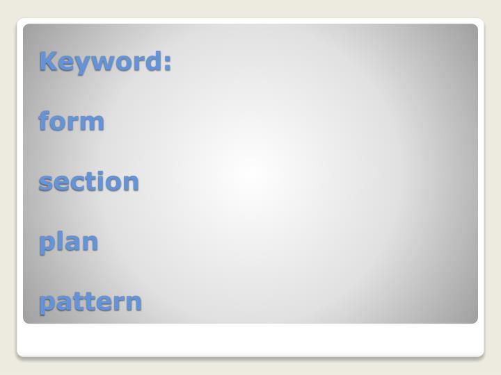 Keyword: