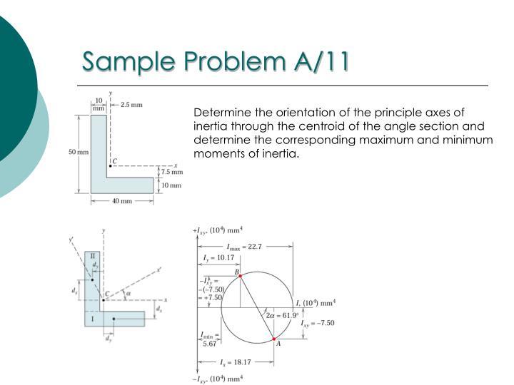 Sample Problem A/11