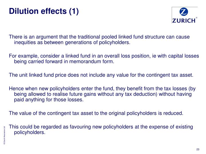 Dilution effects (1)