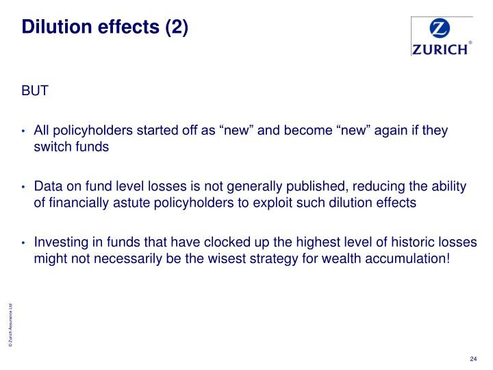 Dilution effects (2)