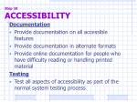 step 10 accessibility8