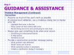 step 9 guidance assistance2