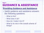 step 9 guidance assistance3