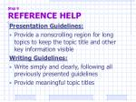 step 9 reference help2