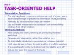 step 9 task oriented help2
