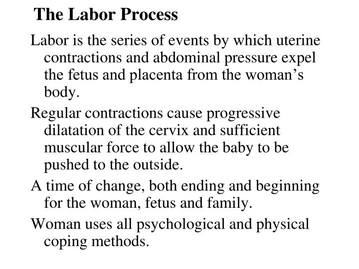 the labor process n.