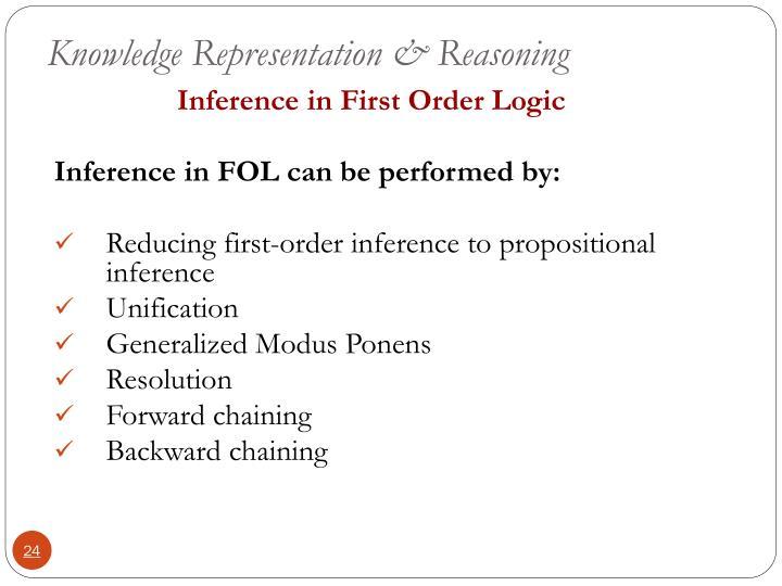 Knowledge Representation & Reasoning