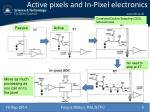 active pixels and in pixel electronics