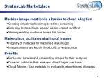 stratuslab marketplace