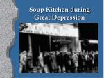 soup kitchen during great depression