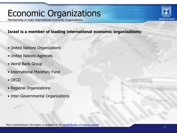Economic Organizations